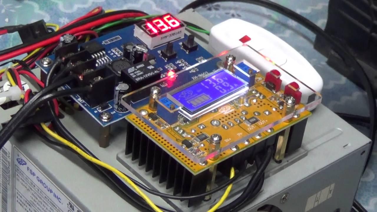 淘汰電腦不要丟 電源供應器改裝汽車電瓶充電實作DIY Computer Power Supply To Battery Charger - YouTube