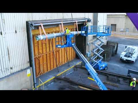 Large Roll-up Door Installation