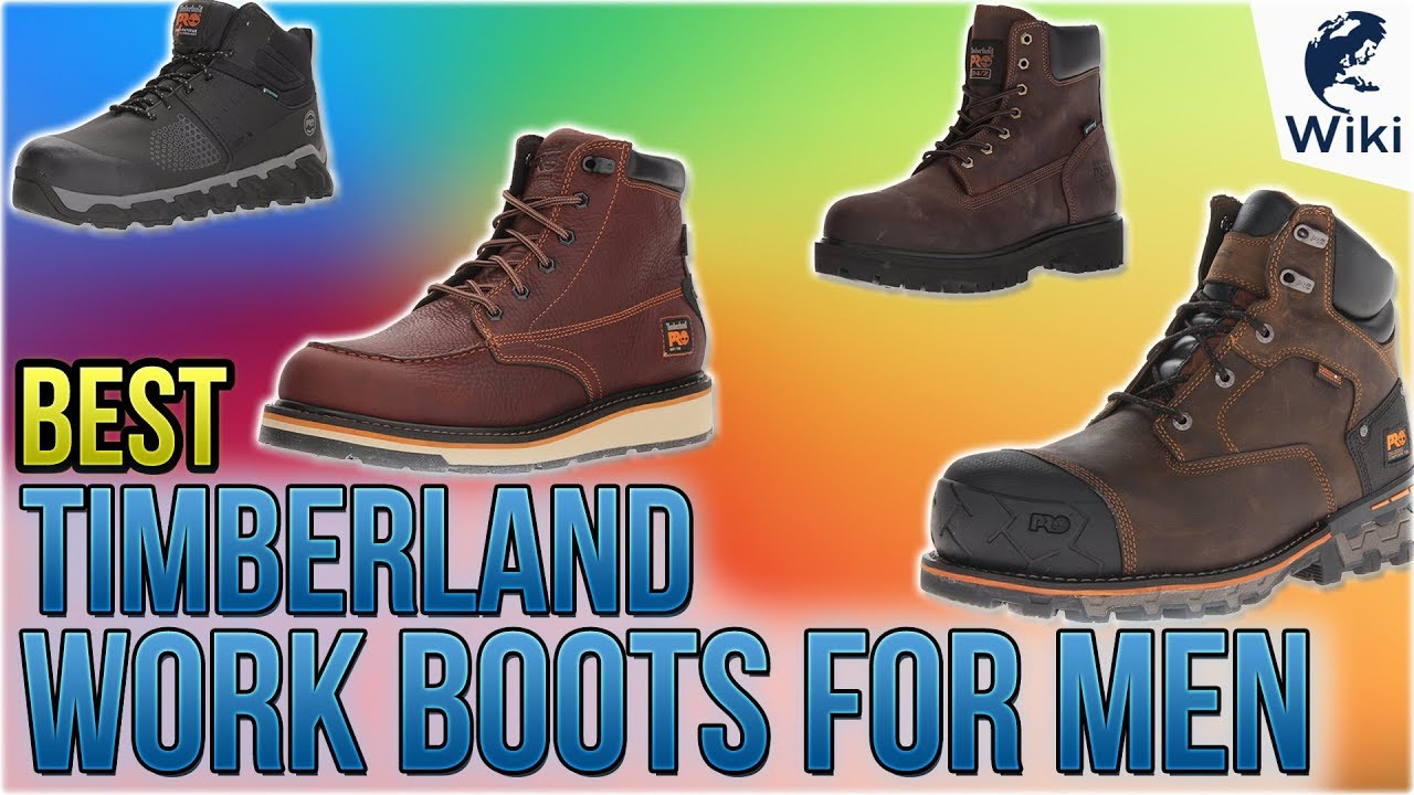 chatarra De nada tienda de comestibles  10 Best Timberland Work Boots For Men 2018 - YouTube