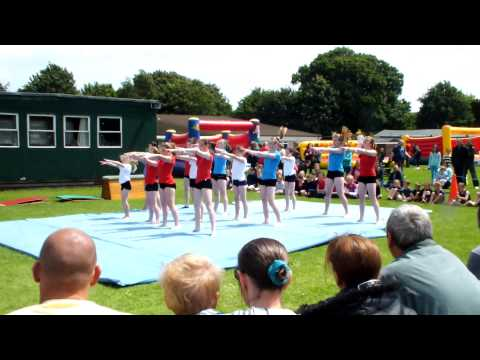 East Kent Acro 2012 Gymnastics Display