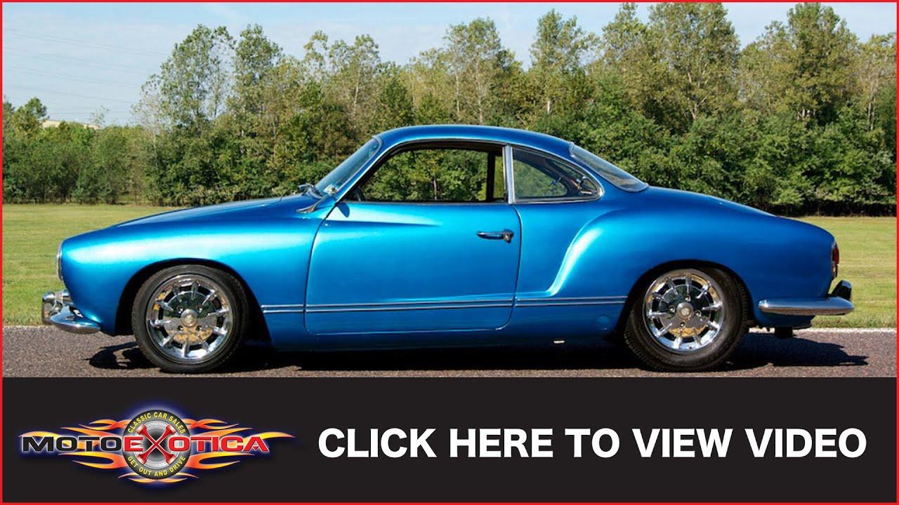 Red Volkswagen Karmann Ghia 1967 - By Aircooled Junkies - YouTube