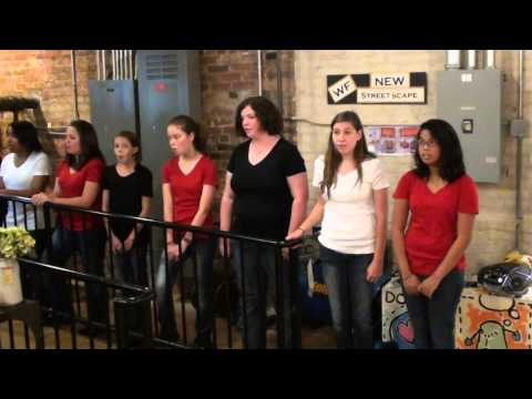Music Academy South Glee Group at The Cotton Company