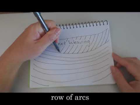 Doodle Basket Weaving easy