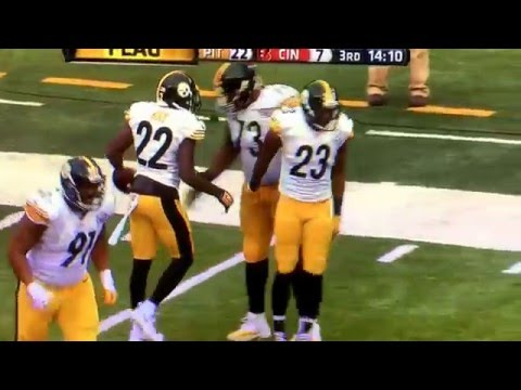William Gay excessive celebration!!! Penalty. Hilarious!!!! CMON MAN VERSION!!!!