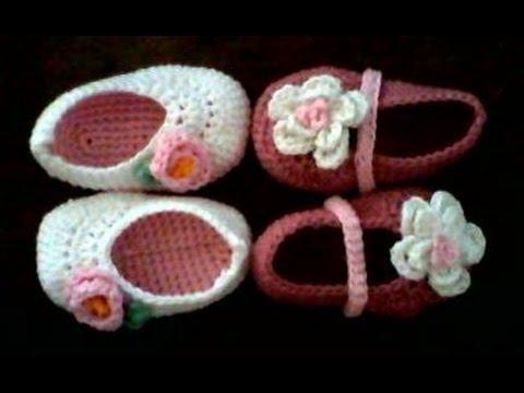 tutorial para hacer patrones de zapatos de crochet - YouTube