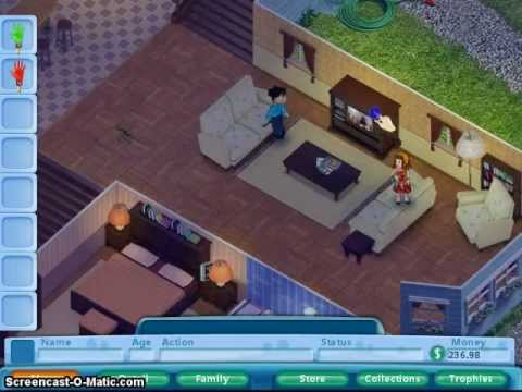571bba303d3 Lets play Virtual families episode 4 sickness - YouTube