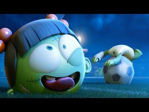 Cartoon   Spookiz   Zizi's Head Came Off   스푸키즈   Funny Animated Cartoon For Kids