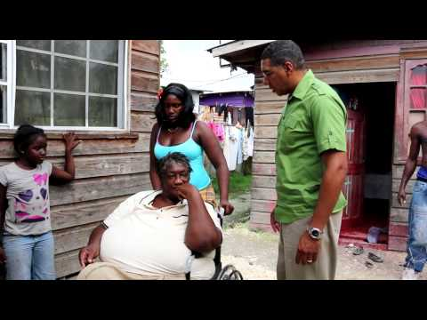 Andrew Holness Donates Wheelchairs in Central Westmoreland - December 2014