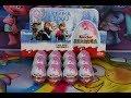 New 12 Disney Frozen Elsa Kinder Surprise Eggs Toy Opening - MUST SEE!