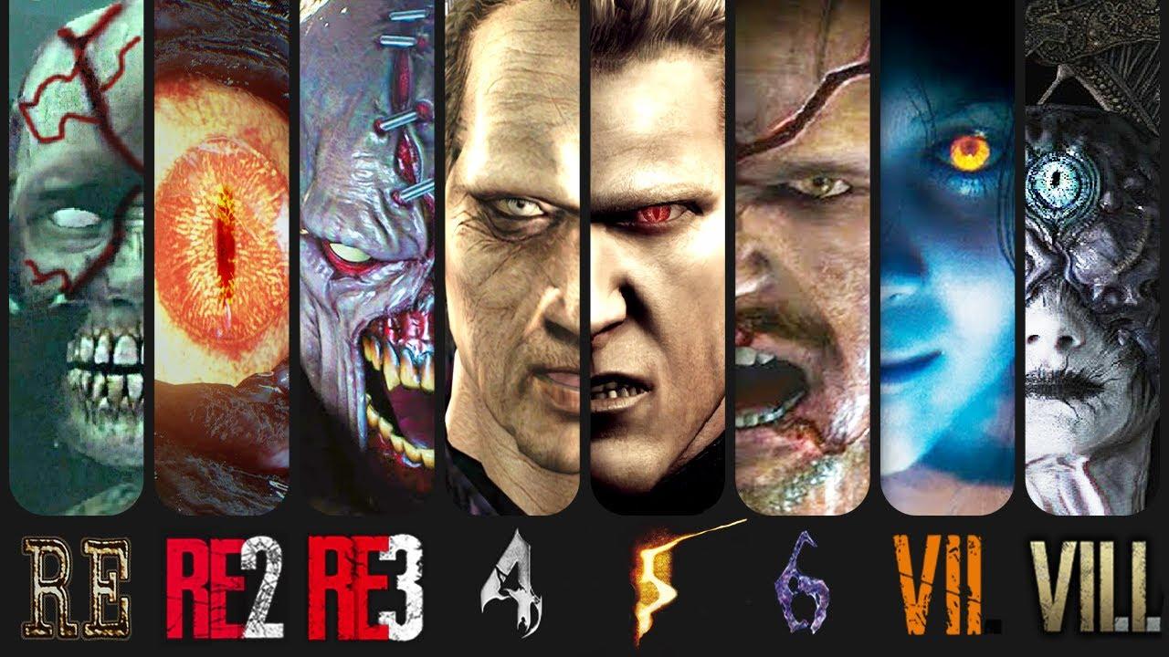 Download Evolution of Final Bosses in ALL Resident Evil Games (1996-2021)