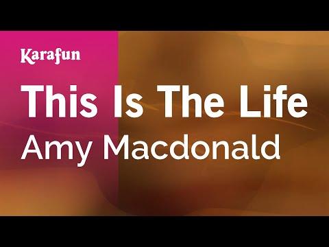 Karaoke This Is The Life  Amy Macdonald *
