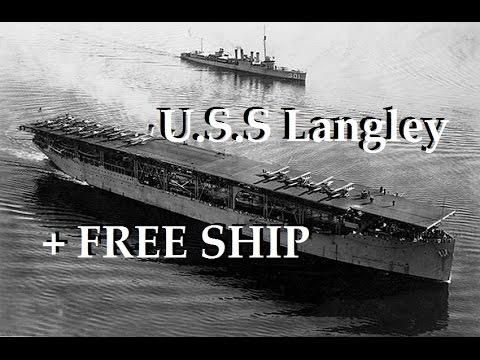 FREE SHIP - World of Warships - USS Langley