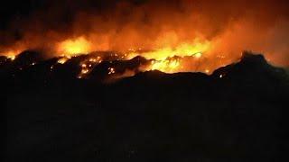 שריפה דליקה אש בלון תבערה חמאס גבול עזה עין הבשור דרום