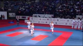 European Karate Championships 2015 Female team kata GER vs TUR Final
