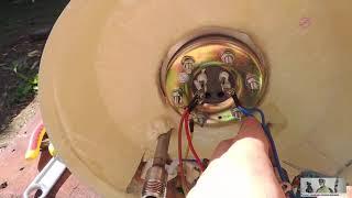 Из за чего пробивает током в ванной? Замена тена водонагревателя.