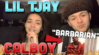 🔥Calboy - Barbarian (Official Video) Ft. Lİl Tjay REACTION❗️