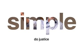 Simple: Do Justice | August 16, 2020 | LiveStream sermon