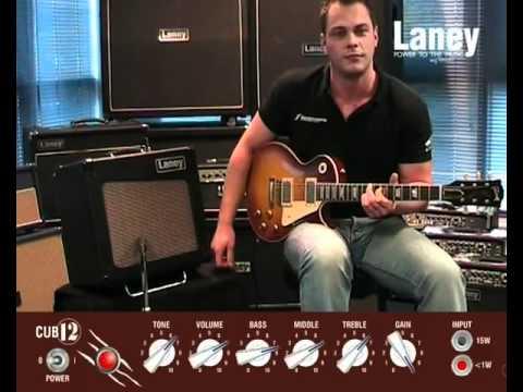 amp guitarra laney cub 12r youtube. Black Bedroom Furniture Sets. Home Design Ideas