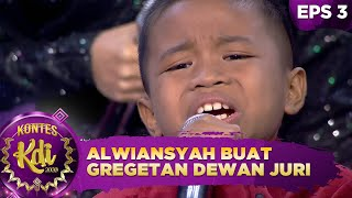 Gambar cover Ekspresi Alwiansyah Buat Gregetan Dewan Juri - Kontes KDI 2020 (17/8)