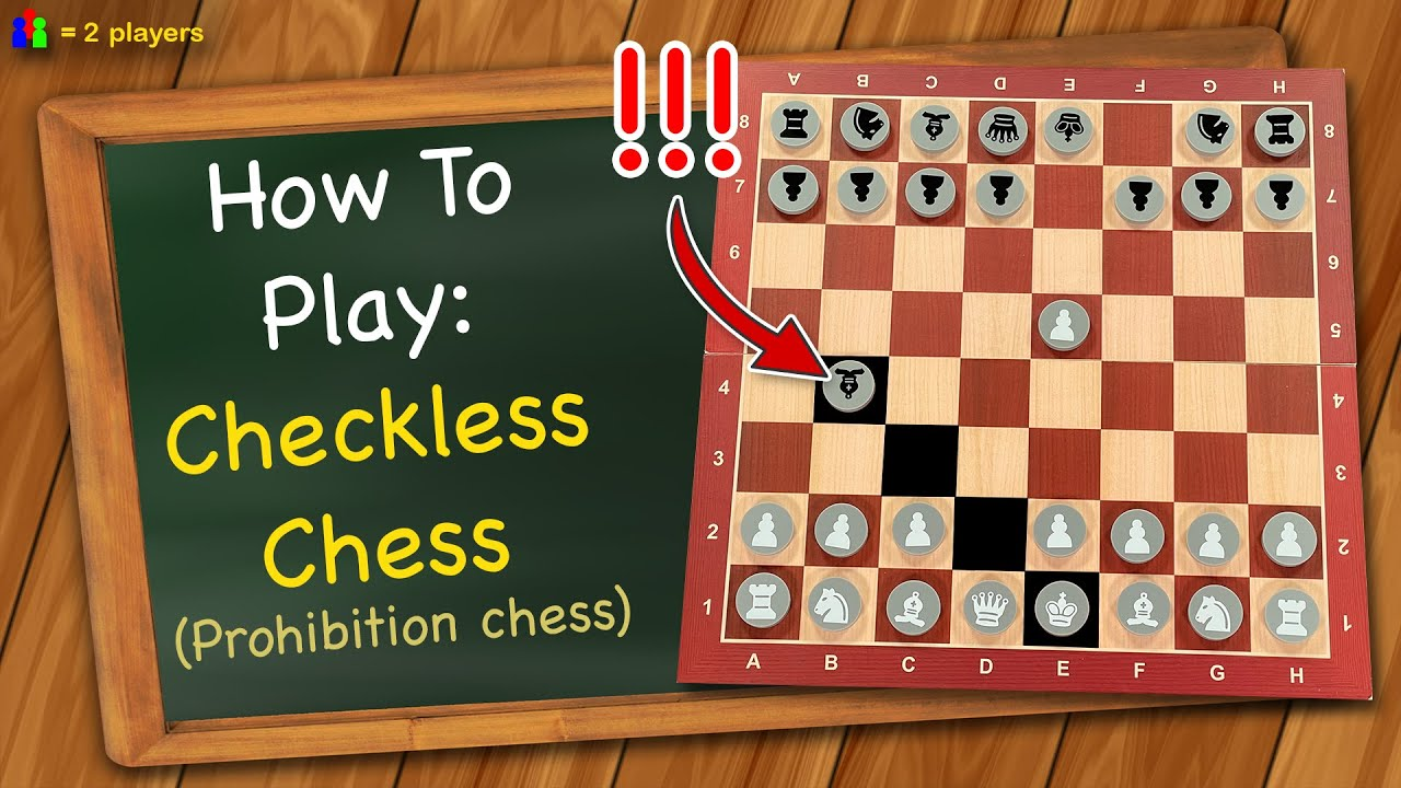 How to play Checkless Chess (Prohibition Chess)