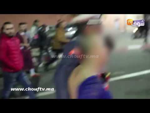 فيديو البوناني: مثلي شدوه البوليس جا يهرب طاح ليه الشعر فمراكش