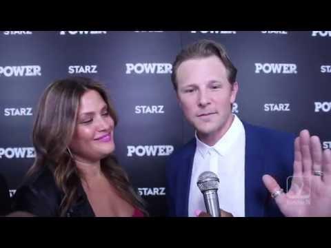 SHANE JOHNSON and KEILI LEFKOVITZ at the 'POWER' season 3 premiere