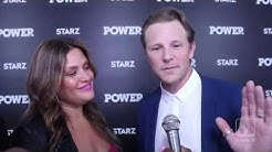 SHANE JOHNSON and KEILI LEFKOVITZ at the 'POWER' season 3 premiere
