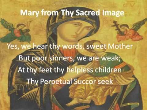 Mary From Thy Sacred Image