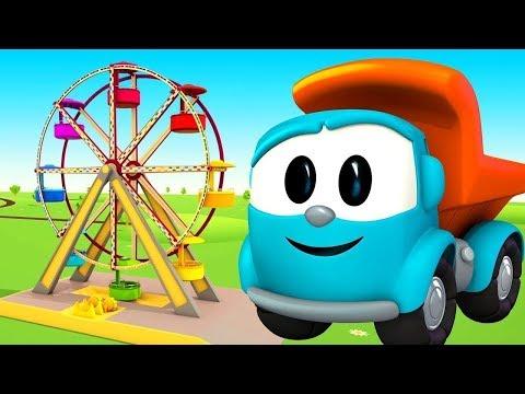 Küçük kamyon Leo robotlara Dönme dolap yapıyor!