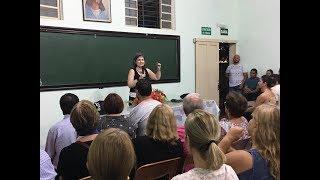 Palestra com Anete Guimarães - 30º Aniversário do C.E. Francisco Cândido Xavier -10/01/2018