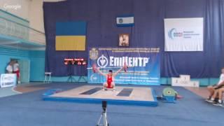 Чемпіонат України з важкої атлетики серед молодв до 23 років 2016. 2 день, в/к 69, 77 кг