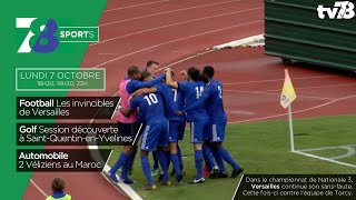 7/8 Sports. Emission du lundi 7 octobre 2019