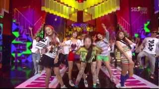 Wonder Girls - Like This LIVE on 6/10/12 - Inkigayo