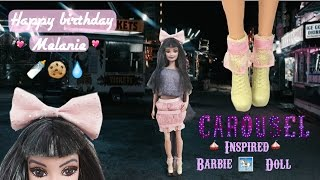 diy how to make a custom melanie martinez barbie doll tutorial   happy bithday melanie martinez
