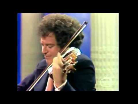 Itzhak Perlman   Feb. 23, 1977  Tonight wow. with: Samuel Sanders