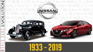 W.C.E - Nissan Evolution (1933 - 2019)