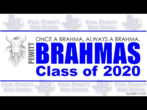 Senior 2020 Video - Pewitt High School