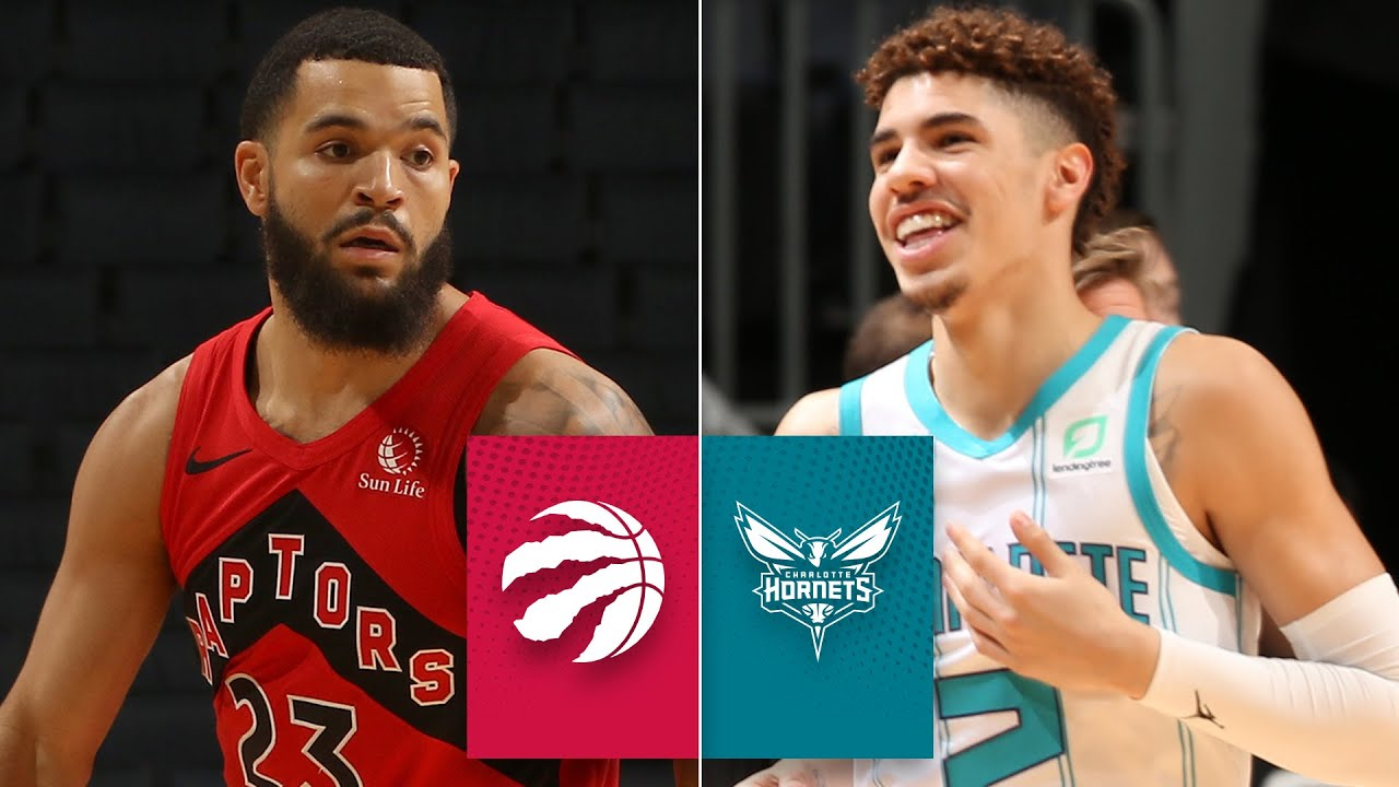 Lamelo Ball Scores 12 Points For Charlotte Hornets Vs Toronto Raptors Nba Preseason Highlights Youtube
