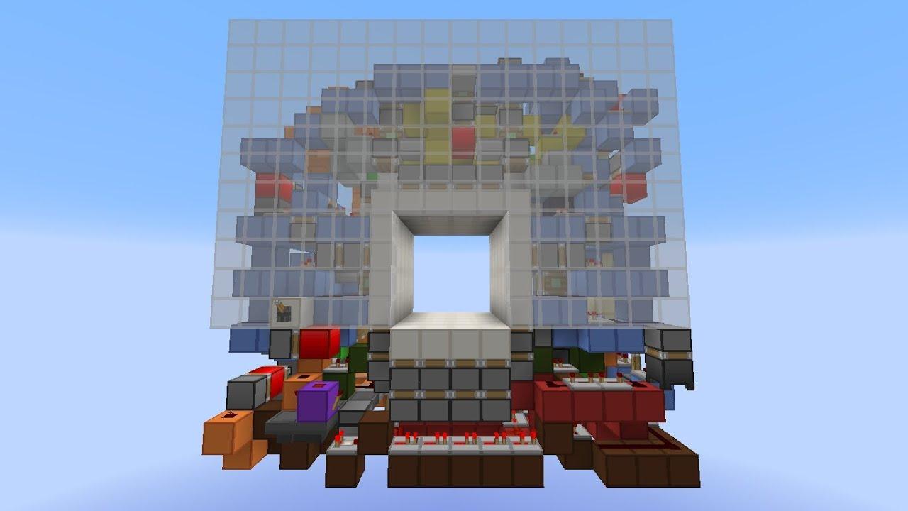 Minecraft Smallest 4X4 Flush \u0026 Seamless Piston Door [16X16X6][1.5~1.8] - YouTube & Minecraft Smallest 4X4 Flush \u0026 Seamless Piston Door [16X16X6][1.5 ... Pezcame.Com