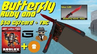 Butterfly Ruby Giveaway! (Counter Blox)