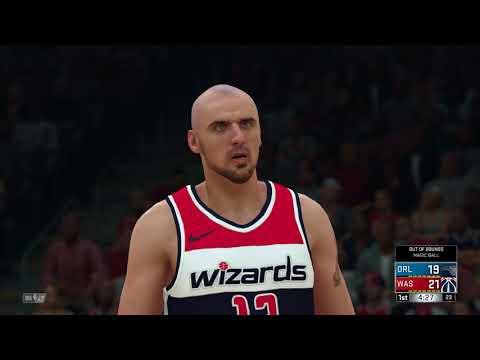 NBA-2K18 Orlando Magic vs Washington Wizards