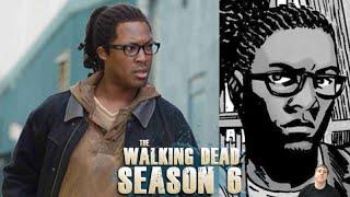 The Walking Dead Season 6 - Heath Officially Cast!