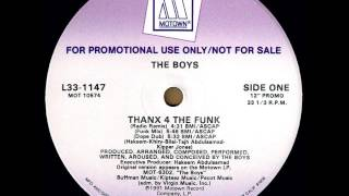 The Boys - Thanx 4 The Funk (European Mix)