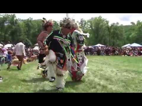 Iroquois Stick Dance - Bear Mountain PowWow - Redhawk Native Arts