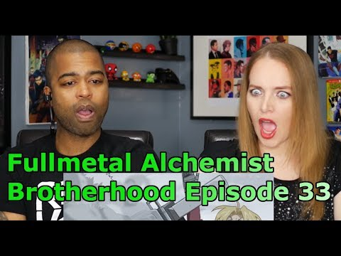 "Fullmetal Alchemist: Brotherhood Episode 33 ""The Northern Wall of Briggs"" (REACTION🔥)"