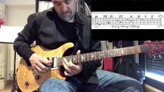 SECRETOS DE LA GUITARRA DE JAZZ ROCK -EL ARPEGIO AUMENTADO (1 de 2)