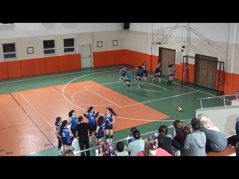 ADA VOLEYBOL - ANKARA PERFORMANS Turnuva Maçı 4.Set Midi Voleybol (23.03.18/Ankara)