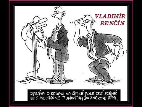 Kreslene Vtipy Iii Vladimir Rencin Youtube