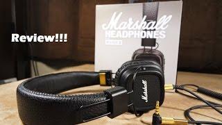 Marshall Major II Black Headphone Review