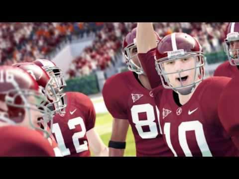 WHAT IF THE ALABAMA CRIMSON TIDE PLAYED IN A SUPER CONFERENCE (NCAA 14)